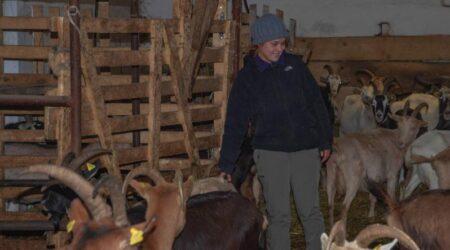 Fa troppo freddo in valle dei Mocheni  Trasferite e smistate le capre di Agitu.  La tristezza di Beatrice: «Vi auguro il meglio»